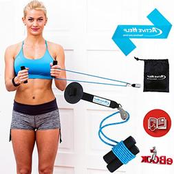 Shoulder Pulley Therapy Bundle - Home Exercise Over Door Pul