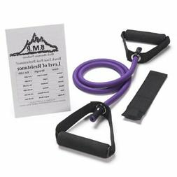 BEACHBORN Single Resistance Band With FREE Door Anchor and S