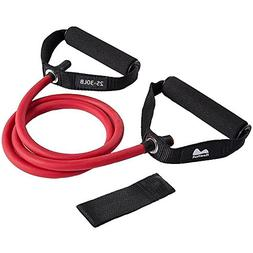 REEHUT Single Resistance Band Exercise Tube with Handle, Doo
