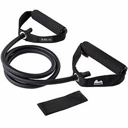 Reehut Single Resistance Band Exercise Tube - With Door Anch