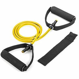 Single Resistance Band Fitness Bands With Door Anchor Handle