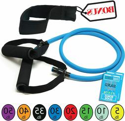 Tribe Single Resistance Bands, Workout Bands - Includes Sing