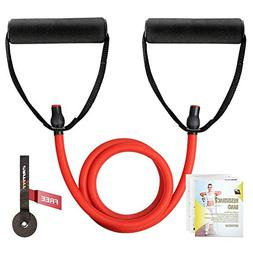 RitFit Single Resistance Exercise Band with Comfortable Hand