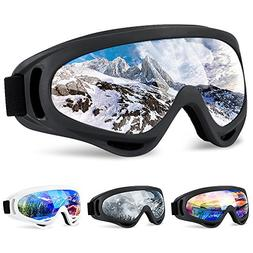 SiFREE Ski Goggles, Snowboard Goggles with UV 400 Protection