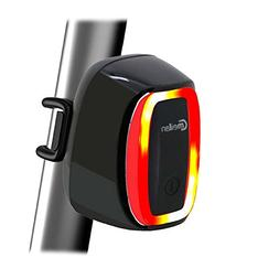 smart taillights usb rechargeable bike