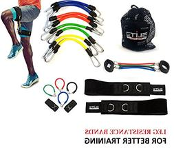 Speed Agility Kinetic Leg Resistance Bands - Ultimate Speed