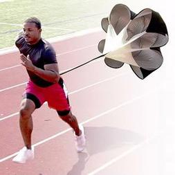 Speed Resistance Training Parachute Running Chute Soccer Foo