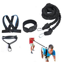 HemeraPhit Speed Training Belt Harness Resistance Band Waist