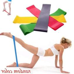 sport resistance bands loop exercise yoga elastic