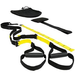 sports bodyweight fitness resistance trainer kit