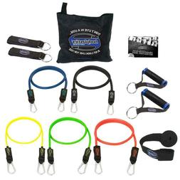Bodylastics Stackable  MAX Tension Resistance Bands Set w tr