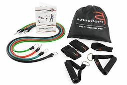 ProSource Stackable Resistance Bands 11-Piece Set with Extra