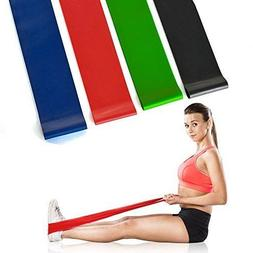 Odoland Strength Fitness Durable Natural Lateral Loop Exerci