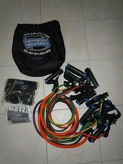 Bodylastics strength training system 7 bands NEW in bag