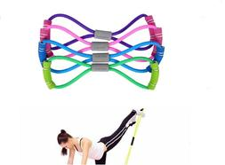 Stretch Band Rope Latex Rubber Arm Resistance Fitness Exerci
