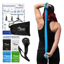 Furious Fitwear Stretch Resistance Bands Set for Daily Stret