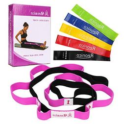 Reonico Stretch Strap with Loops Stretch Out Strap and Resis