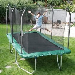 Summit 14' Rectangle Trampoline with Safety Enclosure
