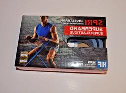 "SPRI Super Band Blue Heavy Duty Resistance Band 40"" 1 3/4"""