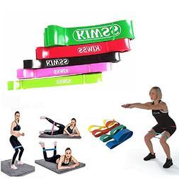 Kiwss Super Long Exercise Resistance Band Yoga Loop Elastic