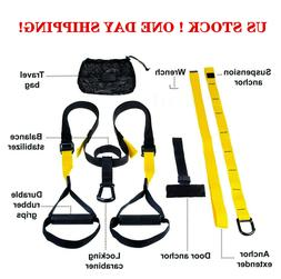 Suspension trainer straps Home Gym Fitness Resistance band t