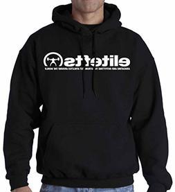 EliteFTS Men's Tagline Hood XL Black
