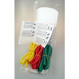 TheraBand Light Exercise Tubing , Pack of 3