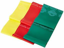 TheraBand Professional Latex-Free Resistance Bands 6' Non La