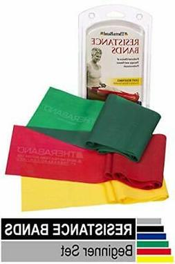 TheraBand Resistance Bands Set, Professional Non-Latex Elast