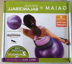 Gaiam Total Body Balance Ball Kit - Includes 55cm Anti-Burst