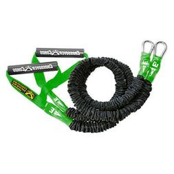 Crossover Symmetry Weight Training Resistance Cords Green 3.