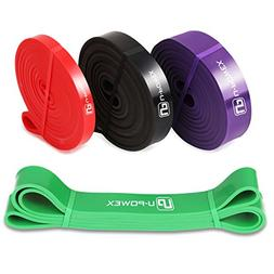 U-POWEX Pull Up Assist Bands Exercise Resistance Bands Mobil