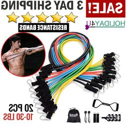 Pinjian Ultimate TRX Resistance Band Set Exercise Workout Ge