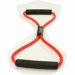 SPRI Ultra Toner Resistance Band Figure 8 Exercise Cord, Red