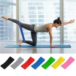 Unisex Resistance  Hip Circle Band Loop Glute Leg Squat Gym