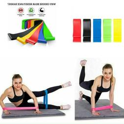 US Resistance Bands Workout Loop Set 5 Legs Exercise CrossFi