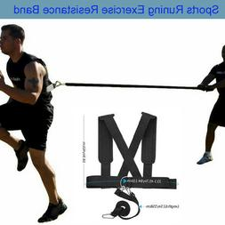US Sports Resistance Band Harness Fitness Yoga Sled Strength