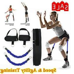 Vertical Jump Trainer Leg Strength Resistance 35lbs Speed&Ag