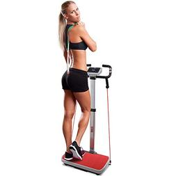 Hurtle Vibration Platform Fitness Machine - Full Body Exerci