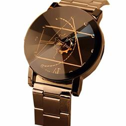 Watch Promotion! Luxury Fashion Womens Mens Stainless Steel