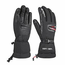 Waterproof Glove - Windproof Goat Skin Leather Thinsulate In