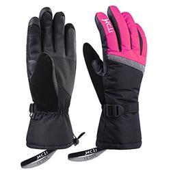 MCTi Ski Gloves,Winter Waterproof Snowboard Snow 3M Thinsula