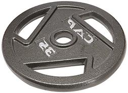 CAP Barbell Free Weights 10-Pounds Olympic Grip Plate Olympi
