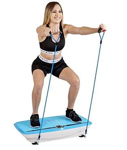 Body Xtreme Fitness Whole Body 3D Vibration Platform with Re