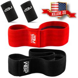 Wide Hip Resistance Bands Loop Circle Exercise Workout Fitne