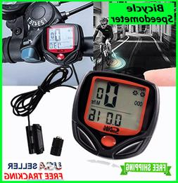 Bike Bicycle SPEEDOMETER Cycle Digital Odometer Computer MPH