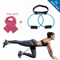Women Booty Butt Band Workout Resistance Belt July Fourth Pr