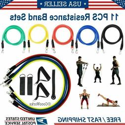 Work Out Bands At Home Resistance Band Set - Exercise Fitnes
