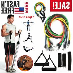 Workout Resistance Bands Loop Set CrossFit Fitness Yoga Boot