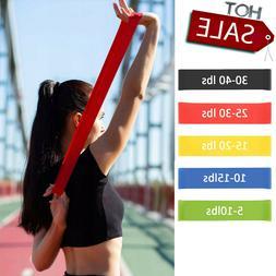 Workout Resistance Bands Loop Set CrossFit Fitness Yoga Boot